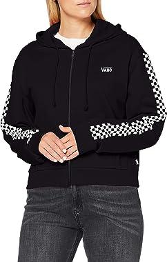 Vans Funnier Times Crop Zip Hoodie Sweatshirt Capuche Femme
