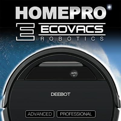 Ecovacs DEEBOT Control and Helper Robotic Vacuum