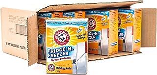 Arm & Hammer Baking Soda, Fridge-N-Freezer Pack, Odor Absorber, 17.6oz Packs, (Case of 12)
