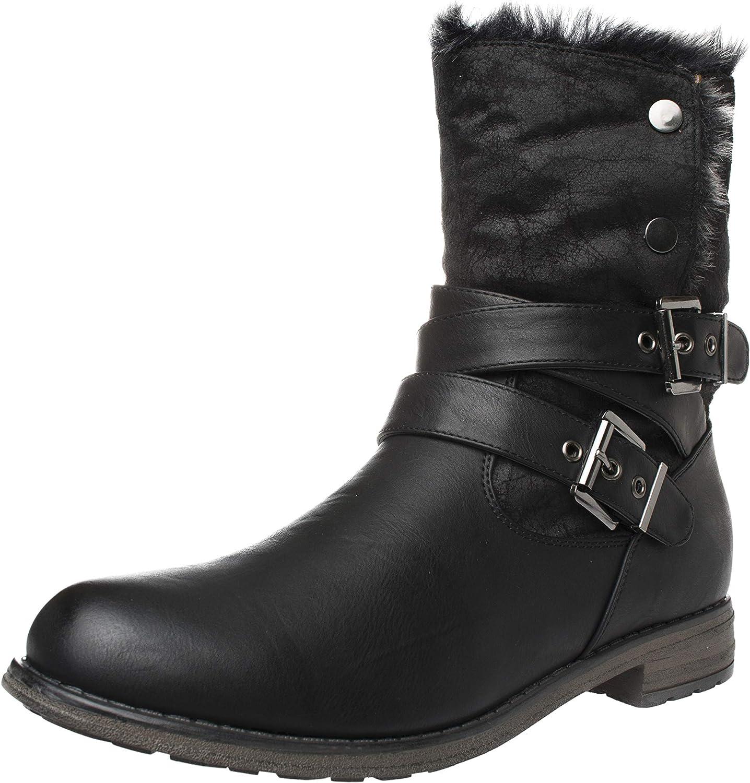 Fitters Footwear That Fits Damen Stiefelette Nicole Synthetik Stlefelette warm gefüttert (EU,)