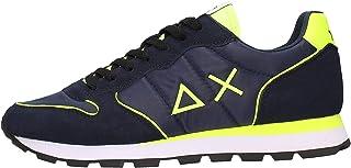 SUN68 - Sneaker Tom Nylon Fluo Militare