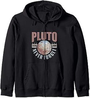 Astronomy Never forget pluto Retro space planet Sweat à Capuche