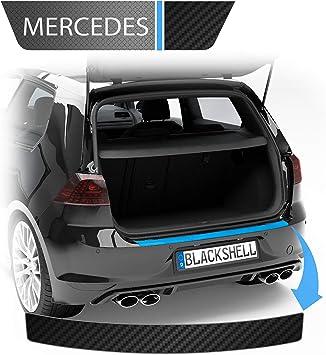 Blackshell Ladekantenschutz Folie Inkl Premium Rakel Passend Für A Klasse Typ W176 Bj 2015 2018 Transparent Passgenaue Lackschutzfolie Auto