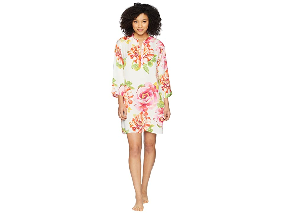 N by Natori South Pacific Sleepshirt (White Multi) Women