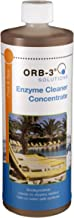 Orb-3 A011-000-1Q Enzyme Cleaner Concentrate Bottle for Pools, 1-Quart