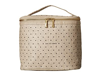 Kate Spade New York Out to Lunch Lunch Tote (Canvas) Handbags