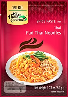 Asian Home Gourmet Spice Paste for Pad Thai Noodles, 1.75-Ounce Pouch (Pack of 3)