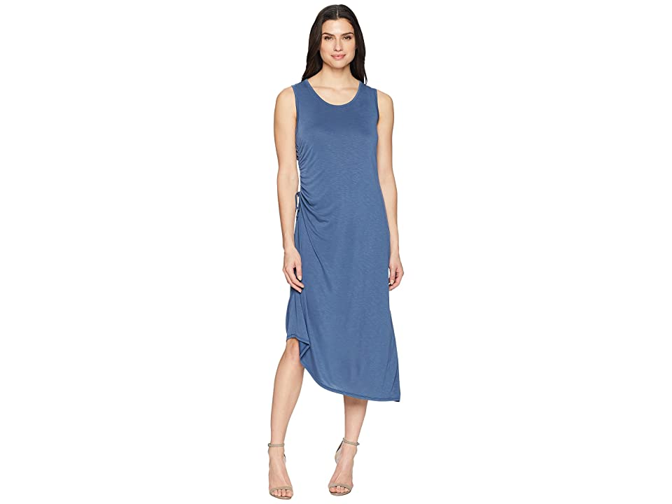 NIC+ZOE Relax Ride Dress (Wshed Rich Indigo) Women