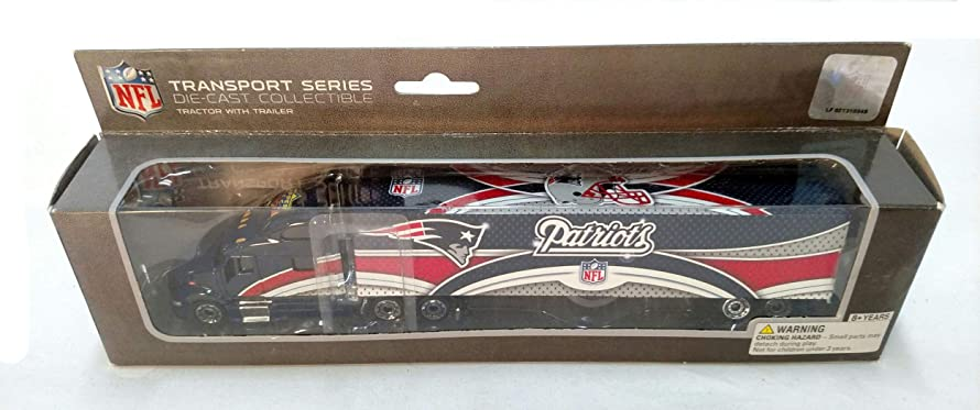 New England Patriots 2008 Limited Edition Die Cast Tractor Trailer Collectible