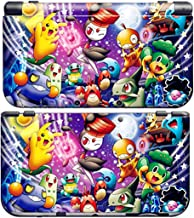 PIKACHU D for New Nintendo 3DS Skin New3DS N3DS Decal Sticker Vinyl Cover + Screen Protectors