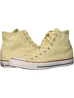 Yellow high top converse + FREE