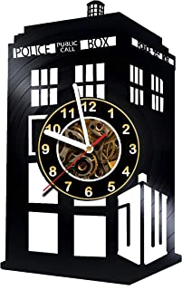 Iskra Shop Doctor WHO - Serial - Vinyl Wall Clock - Get Unique Gifts Presents for Birthday, Christmas, Ideas for Boys, Girls, Men, Women, Adults, him and her - Sport Unique Art Design