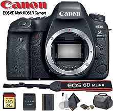 Canon EOS 6D Mark II DSLR Camera (International Model) (1897C002) - Starter Bundle