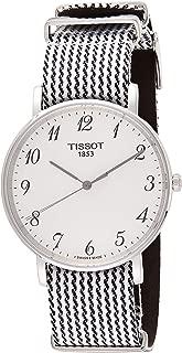 Tissot Unisex-Adult Quartz Watch, Analog Display and Textile Strap T1094101803200