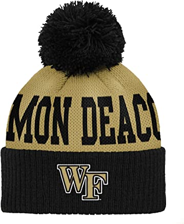 low priced ee132 be66a Gen 2 NCAA Wake Forest Demon Deacons Infant Jacquard Cuffed Pom Hat, Infant  One Size