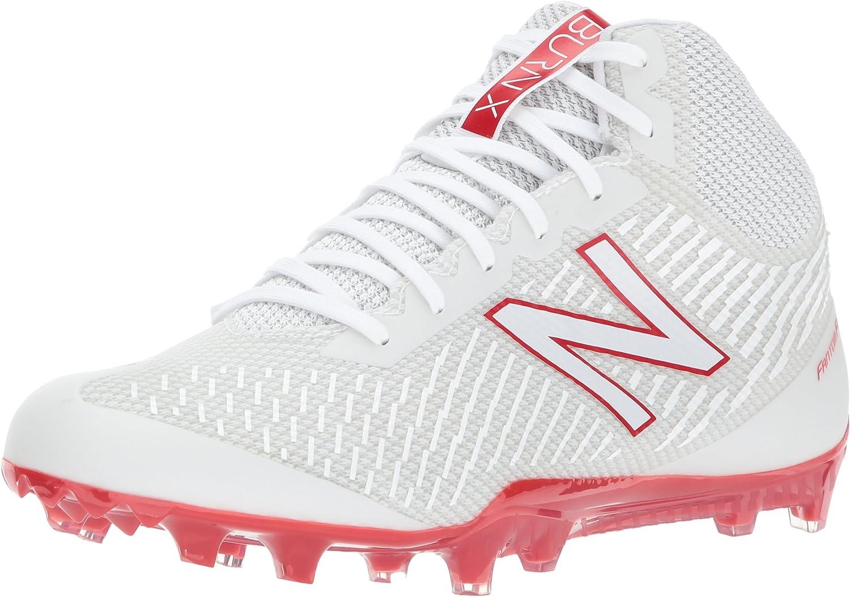 New Balance Men's BURN ディスカウント メーカー再生品 Shoe Speed Mid Lacrosse