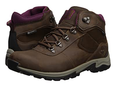 Timberland Mt. Maddsen Mid Leather Waterproof (Medium Brown Full Grain) Women