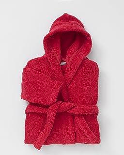 Roma Bademantel aus Mikrofaser Rot Verschiedene Größen Offizielles Produkt