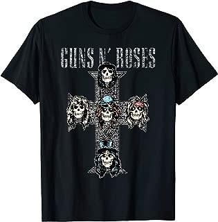 Guns N' Roses Official Vintage Cross T-shirt