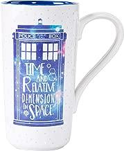 Doctor Who Latte-Macchiato Mug Galaxy Half Moon Calici Tazze