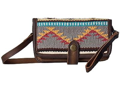 STS Ranchwear Sedona Crossbody Wallet (Serape) Handbags