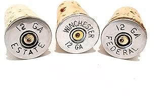 Wine Stopper Corks Silver tone Bullet Shotgun Shells Party Barware Household Gift