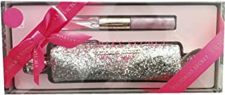 Victoria's Secret Heavenly Rollerball Lipgloss Duo & Glitter Bag Party Set