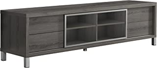 Best modern glass media console Reviews
