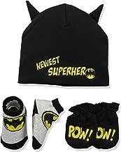 DC Comics Baby Boys Batman Take-Me-Home Set, black, 0-3 Months