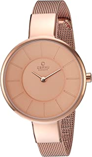 Obaku Women's Quartz Stainless Steel Dress Watch