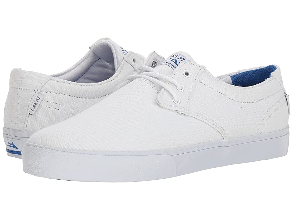 Lakai Daly (White Canvas) Men