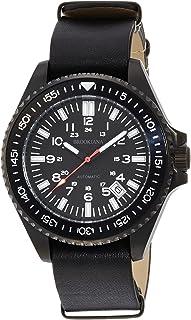 ブルッキアーナ 腕時計 日本製自動巻 手巻付 カプセル夜光 Amazon.co.jp限定 BAA1801-BKBKBK メンズ