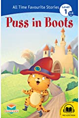 Puss in Boots Self Reading Story Book for 5-6 Years Old Paperback