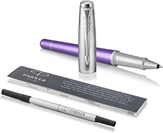 PARKER Urban Rollerball Pen, Premium Violet with Fine Point Black Ink Refill (1931622)