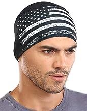کت و شلوار آستین خنک کننده مخصوص سرخ پوشاننده و کلاه مخصوص جمجمه برای مردان - لوازم جانبی برای کلاه ایمنی و کلاه ایمنی - UPF 45 ضد آفتاب