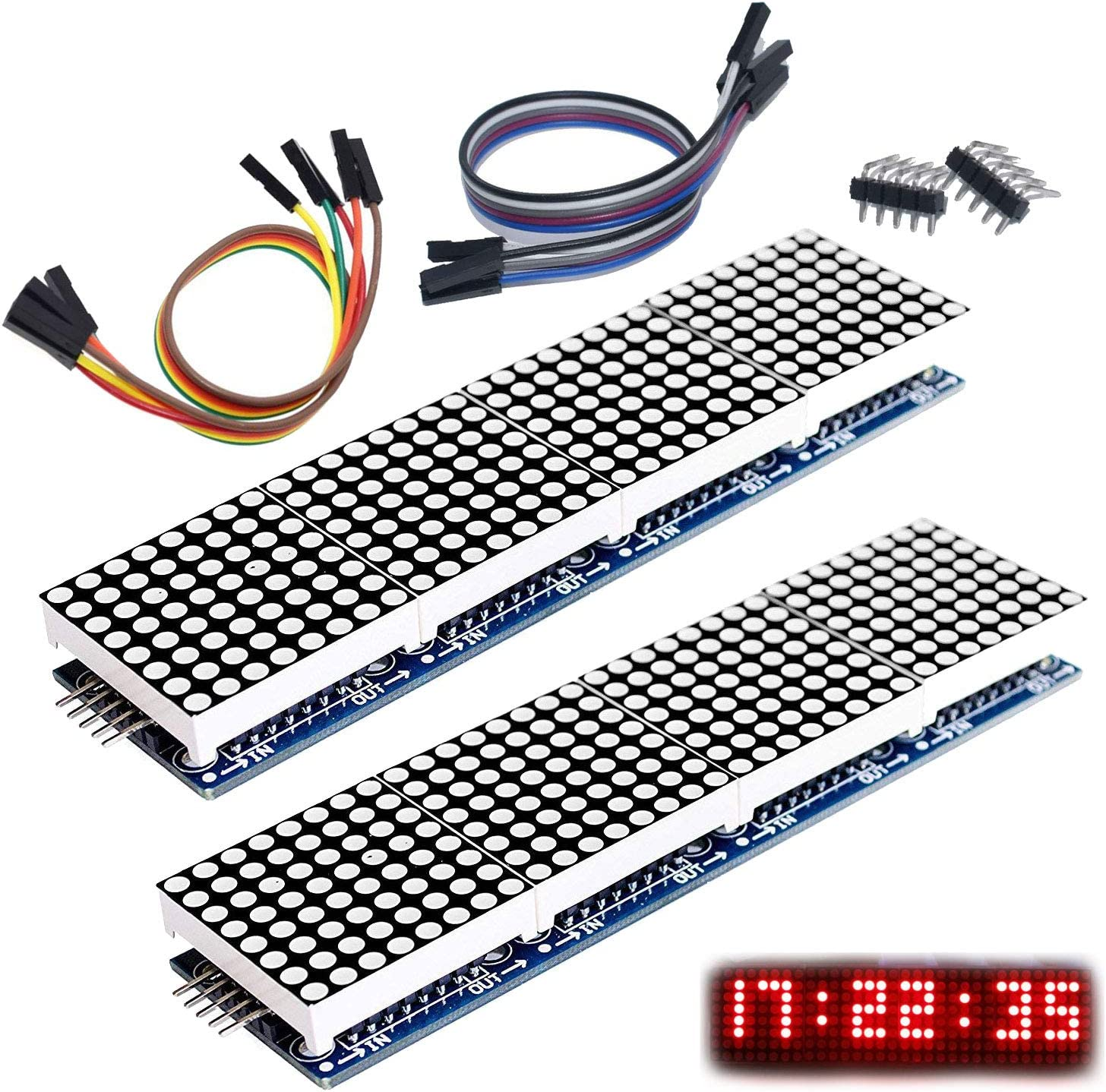ALAMSCN MAX7219 Dot Popular popular Matrix Module 32x8 LED Award-winning store Display 4 1 in