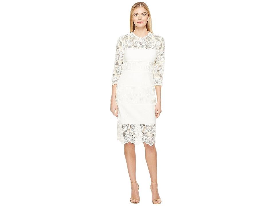 Trina Turk Divertida Dress (White Wash) Women