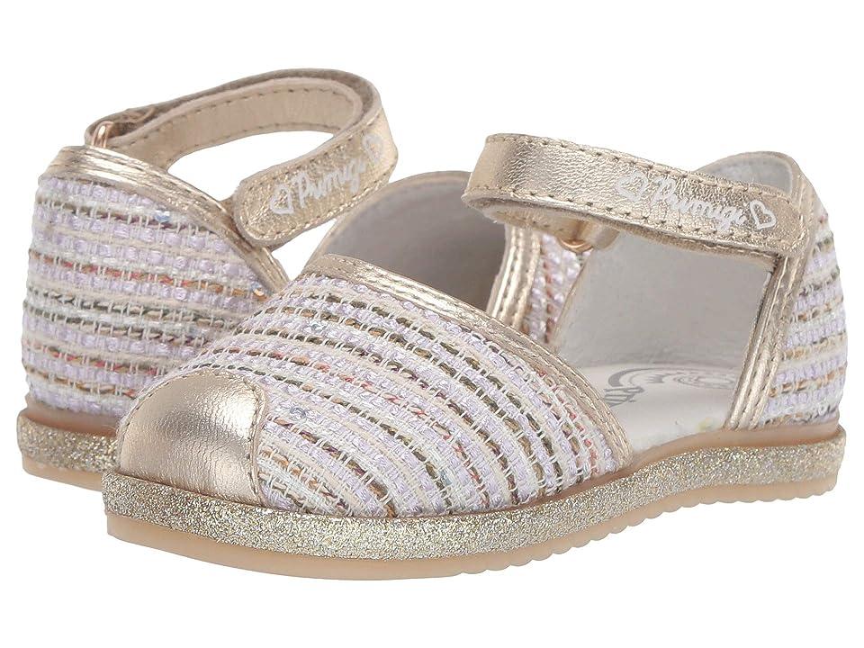Primigi Kids PHS 34194 (Toddler) (Multi/Gold) Girls Shoes
