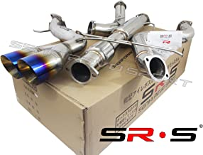 SRS TYPE-R1 BURNT TIP CATBACK EXHAUST SYSTEM FOR 2013-2017 FORD FOCUS ST 2.0L TURBO 3