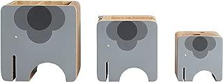 Orla Kiely Kids Desktop Organizer Set, Wooden Elephant