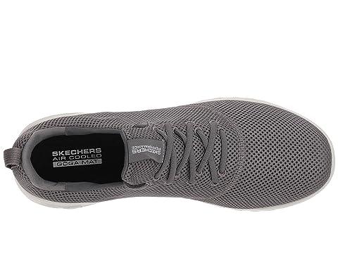 Go SKECHERS 600 55076 Run WhiteCharcoal Performance BlueNavy LimeBlack Orange BlackBlack 55waqU