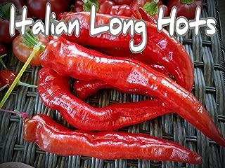 (25+) Italian Long Hots Pepper Seeds