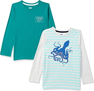 Amazon Brand - Jam & Honey Boy's Regular T-Shirt