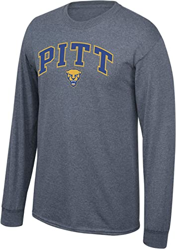 Elite Fan Shop Fan Favorite Dark Heather Long Sleeve Arch Tee Shirt