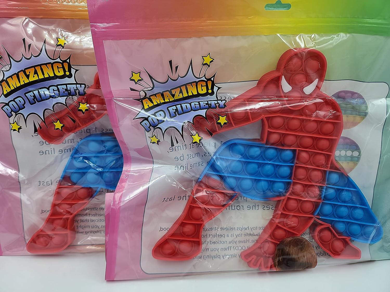 Ohio Trading 2 Nashville-Davidson Mall Pack online shopping of Huge Hero Super Fidget Spider Man Classic