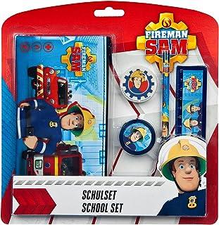 Undercover fstu6471Scuola Set Pompiere Sam, 5Pezzi