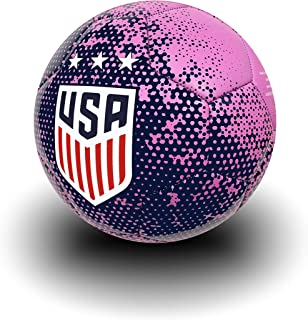 USA Soccer Ball Size 4, Official US Soccer Ball Navy/Pink...