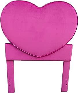 pink crown headboard