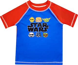 Toddler Boy Star Wars Rash Guard Rashguard Swim Shirt 3T