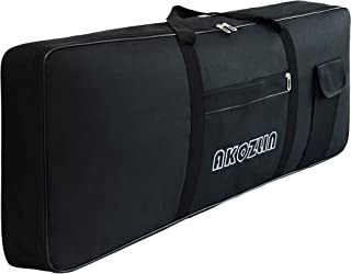 AKOZLIN 61 Keys Portable Padded Keyboard Case,Dimension...